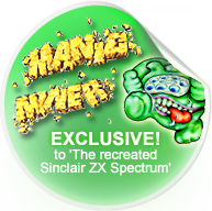 Manic Miner - Exclusive to The Recreated Sinclair ZX Spectrum